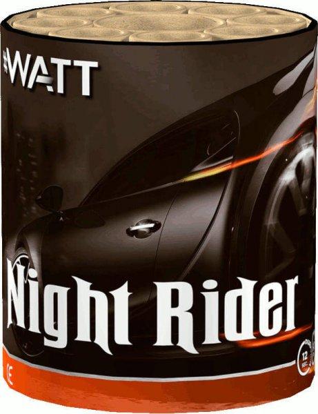 Night Rider - günstiges 8 Schuss Feuerwerk der #Watt Reihe