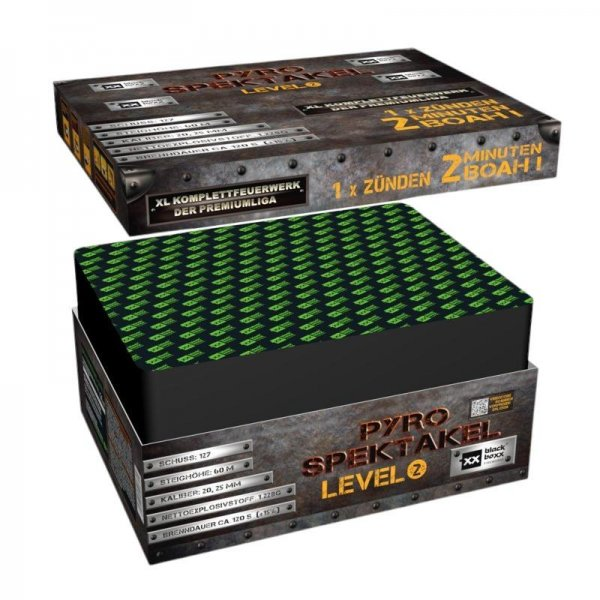 Pyro-Spektakel Level 2 - XXL Feuerwerk im Pyrolager.de