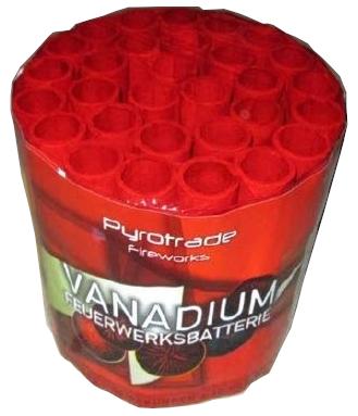 Vanadium - 30Schuss brokat Kronen