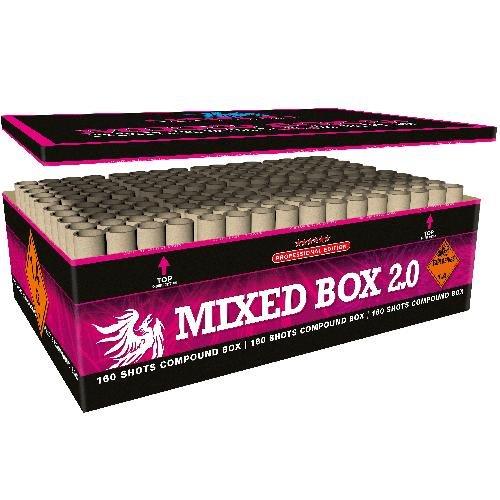 Mixed Box 2.0 - XXL Verbundfeuerwerk von Heron