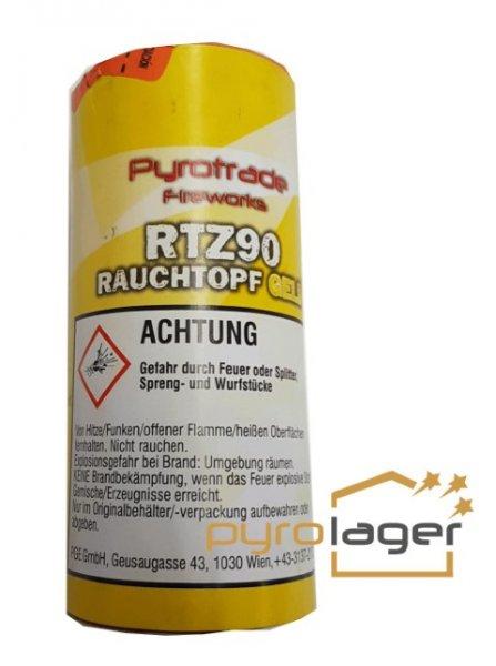 Rauchtopf RTZ90 Gelb - Pyrolager.de