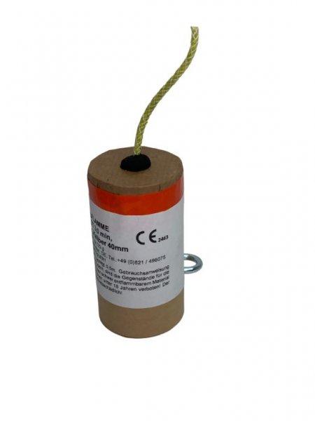 Bengalflamme 3 Minuten Rot Kaliber 40 mm