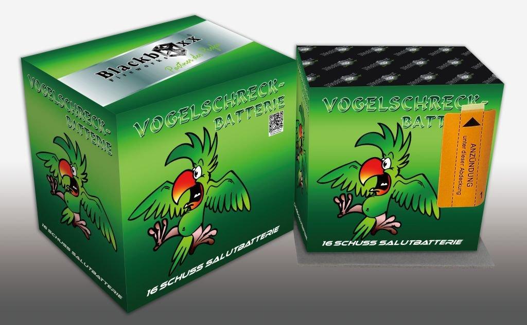 Vogelschreck - Batterie - 6er Käfigverband