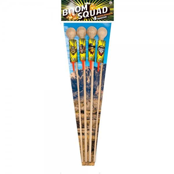 Boom Squad - 4 dicke Kugelraketen aus dem Hause Lesli