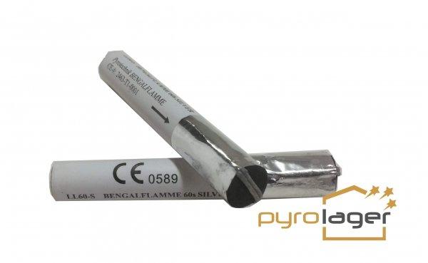 Lichterlanzen Silber - Pyrolager.de
