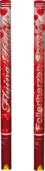 Pyrolager.de - Confetti Shooter 80cm - rote Herzen