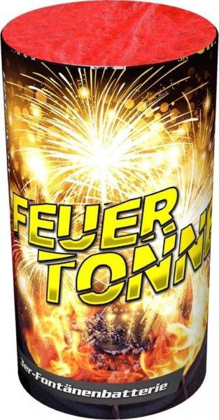 Feuertonne - 3 fach Fontänenbatterie