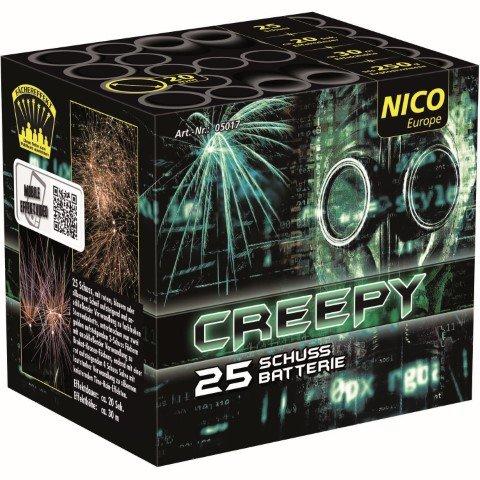 creepy 25 Schuss Nico Feuerwerk