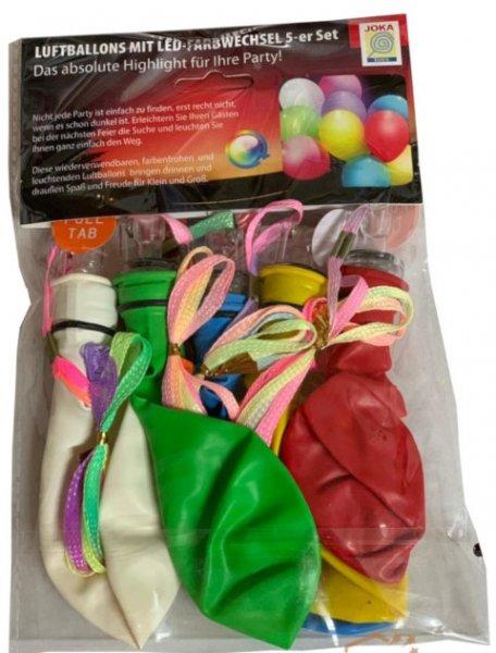 LED Luftballons mit Farbwechsel