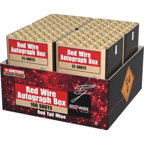 Die Red Wire Autograph box färbt den Feuerwerkhimmel rot - Produktvideo