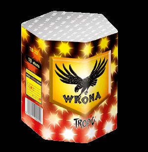 TB33 - Wrona - Leises Feuerwerk mit 19 kräftigen, silber tiger Tails Schweifkometen