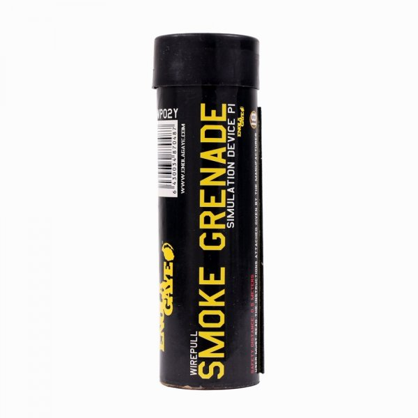Enola Gaye - Rauchgranate Wire Pull gelb