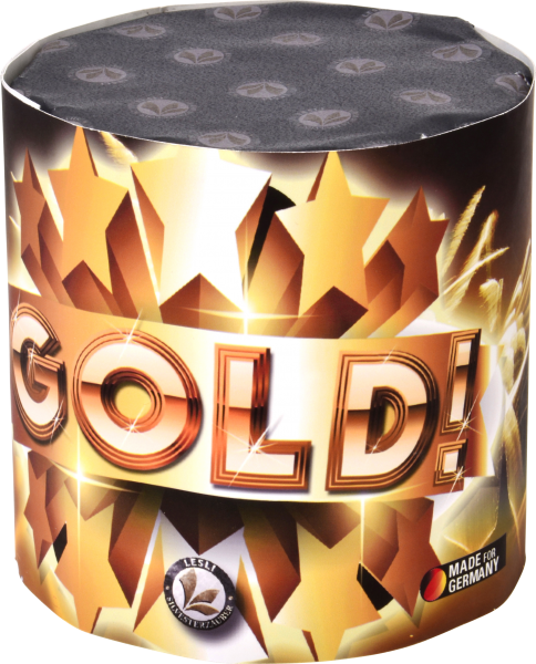 Gold! 10 Schuss Batterie
