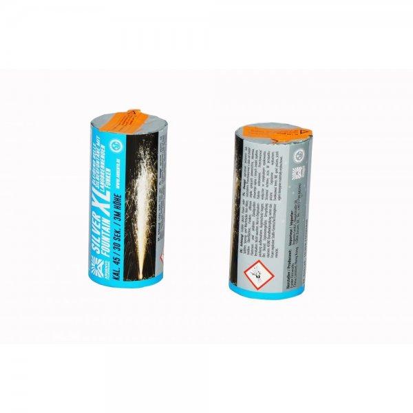 Silverfountain XL - Große Silberfontäne mit langziehenden Funken
