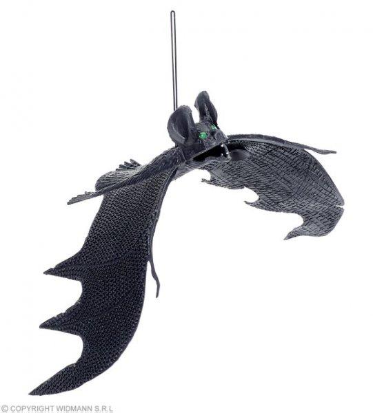 gruselige Fledermaus mit Saugnapf