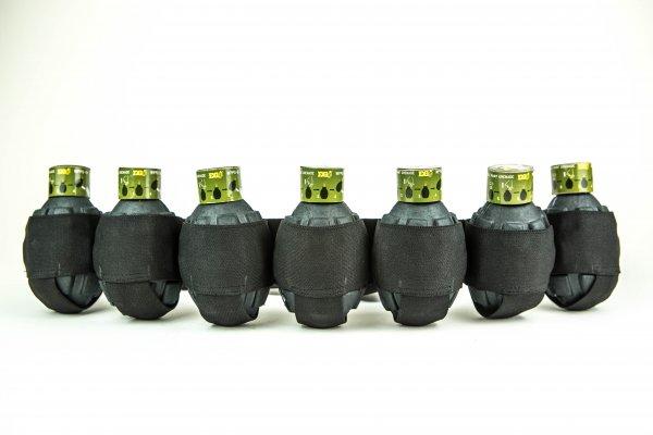 Granatenfürtel schwarz von EnolaGaye