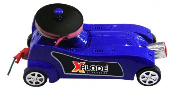 Pyro Mobil - crazy Car von Xplode