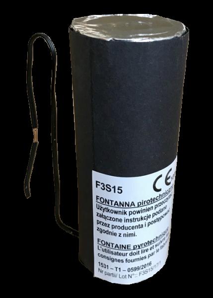 F3s15 - Silberfontäne 15 Sekunden