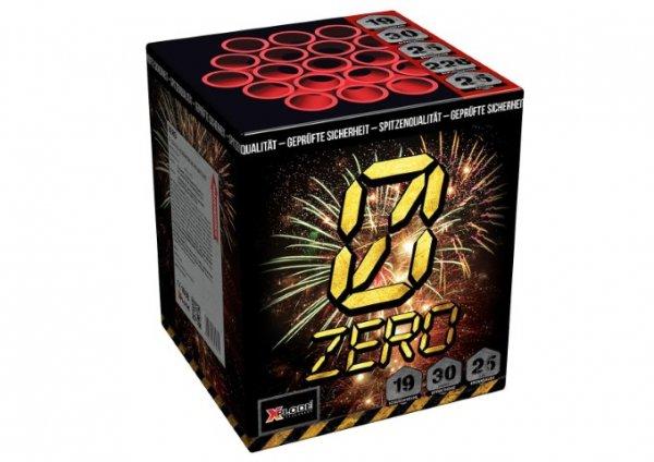 Zero - XP5258 19 Schuss Feuerwerk mit viel Gold