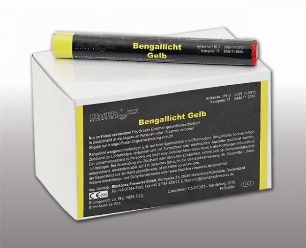 Pyrolager.de - Blackboxx Lanzenlichter Gelb