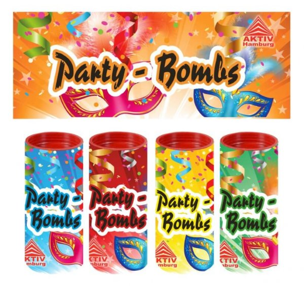 Party Bombs Tischfeuerwerk