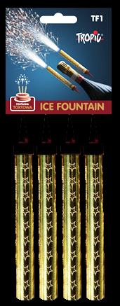 Eisfontänen 12cm Tropic