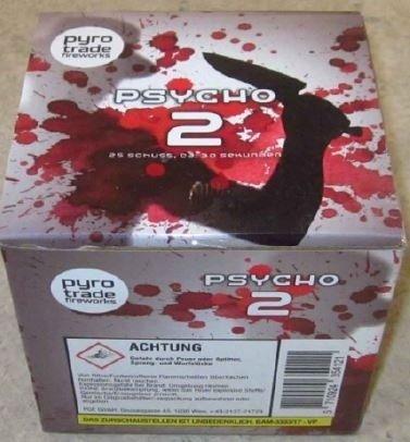 Psycho 2 - 25 Schuss Feuerwerk von PGE