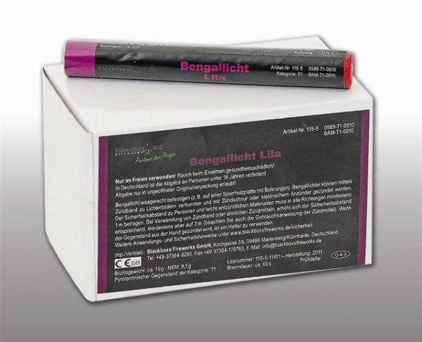 Pyrolager.de - Blackboxx Lanzenlichter Purpur