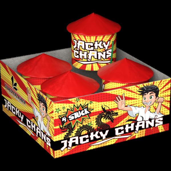 Jackie Chans - Bodenkreisel welche wie eine Rakete aufsteigen