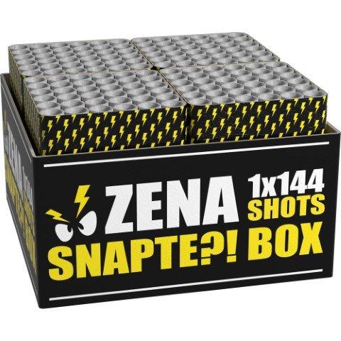 Zena Snapte Box - 144 Schuss in 24 Sekunden rasantes Feuerwerk