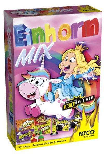 Kinderfeuerwerk Einhorn Mix