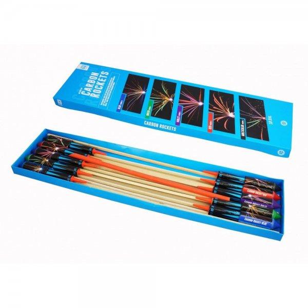 Carbon Rockets von Argento Feuerwerk