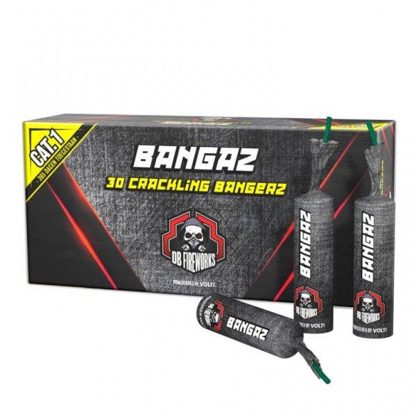Bangaz - 3 kleine Fontänen mit Crackling
