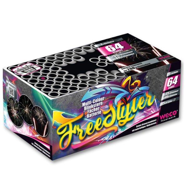 Freestyler von Weco Feuerwerk