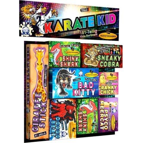 karate Kid - 181 teiliges Set Kinderfeuerwerk
