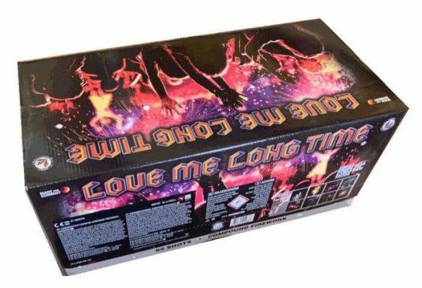 Love me long time - Feuerwerk mit fast 5 Minuten Brenndauer
