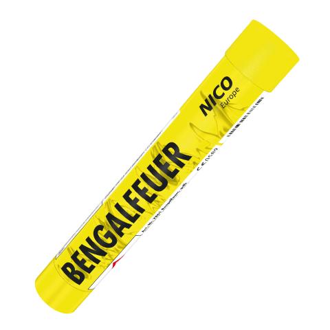 pyrolager.de - Nico bengalisches Feuer gelb
