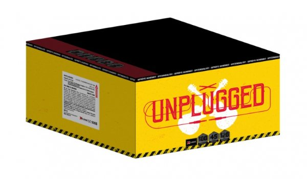 XP4455 - Unplugged 100 Schuss Komplettfeuerwerk mit fast 2 minuten Brenndauer!