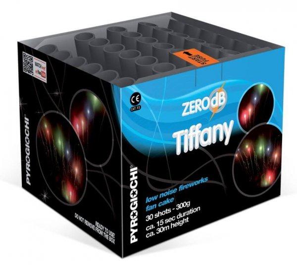 Tiffany - 30 Schuss leises Feuerwerk mit bunten Kometen