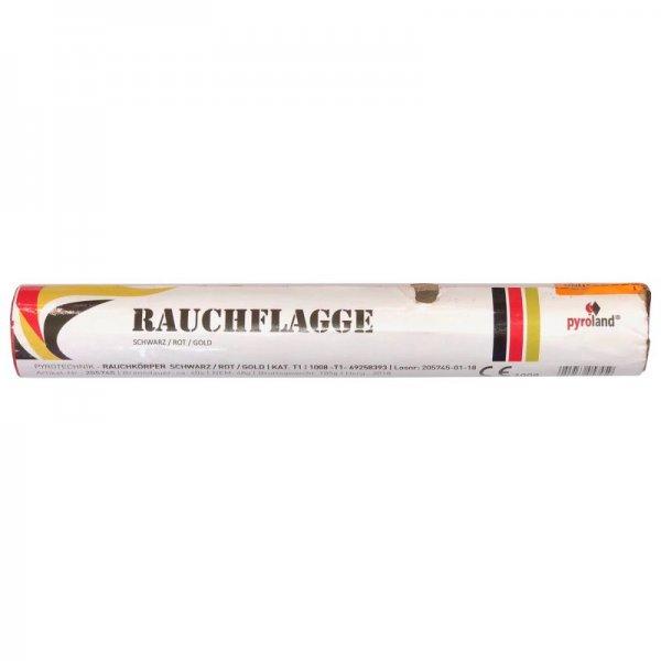 Rauchflagge Deutschland - Rauchfahne in schwarz rot gold