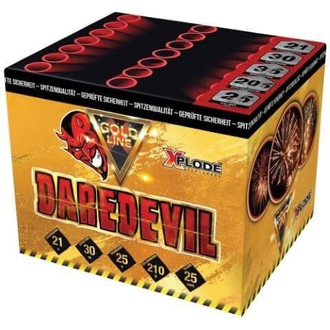 xp5270 Dare Devil - Kräftige Fächerbatterie mit großen Gold Effekten