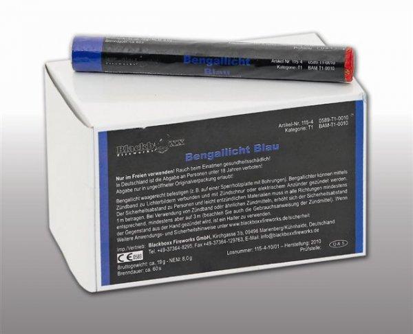 Pyrolager.de - Blackboxx Lanzenlichter Blau