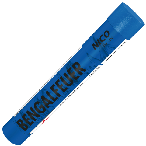 pyrolager.de - Nico bengalisches Feuer blau