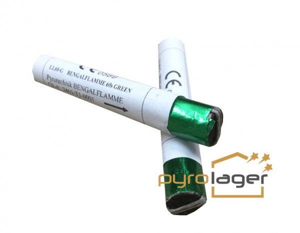 Lanzenlichter grün pyrotrade