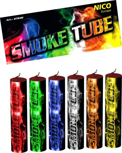 Smoke Tube 6 Farb Set von Nico