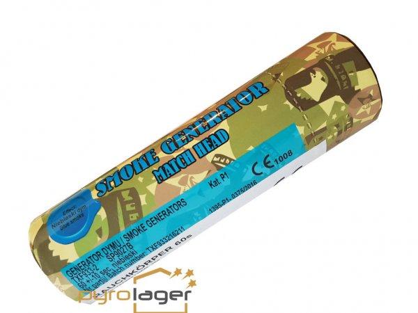 TXF933 - Blau Rauchkörper mit Reibezünder von Triplex