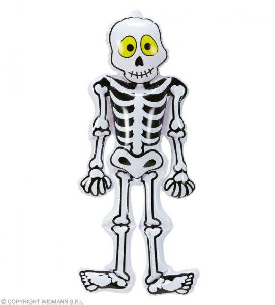 Lustiges, aufblasbares Skelett