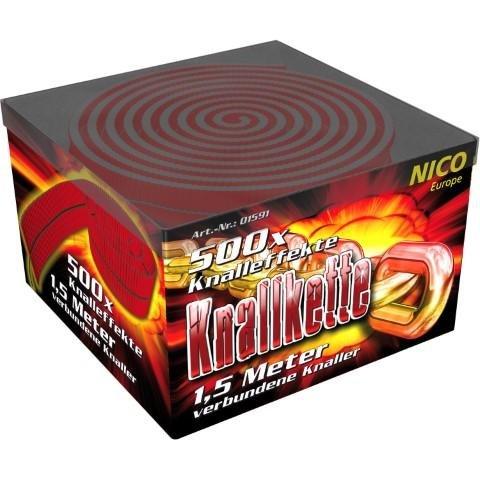 Knallkette 500 Schuss von Nico Feuerwerk