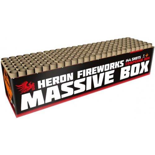 Massive Box - 144 Schuss XXL Feuerwerk