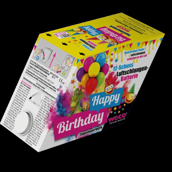 Happy Birthday Tagesfeuerwerk